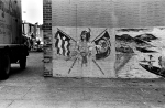 Wall in Carroll Gardens; ca 1970.