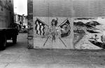 Wall in Carroll Gardens; ca 1970.