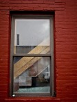 Window on a rainy day from Greenpoint, Brooklyn.