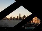 Empire State Building from Pulaski Bridge